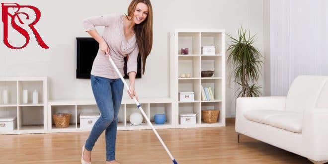 طريقة تنظيف المنزل في ساعة واحدة