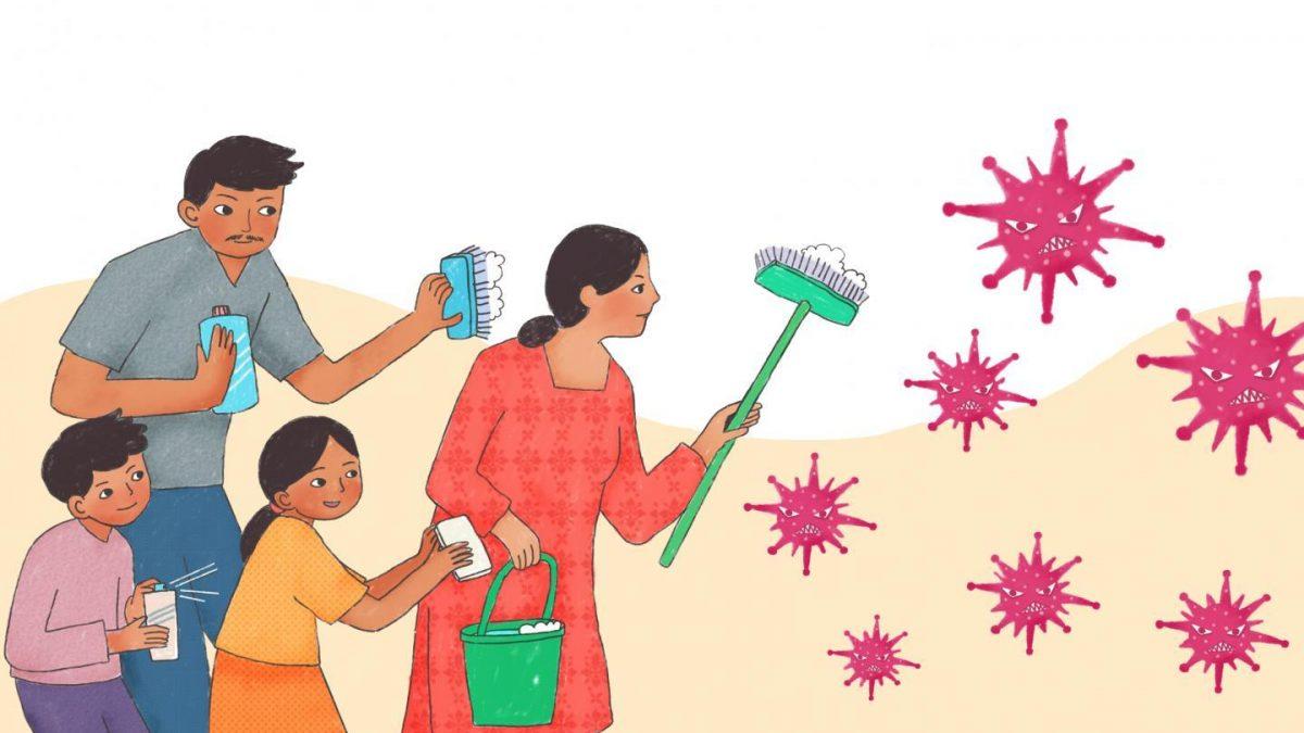 طريقة تعقيم المنزل من الفيروسات